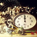 sub-Q New Year's Eve party clock resolutions 2016